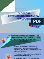 Indecopi-Estructura