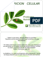 Caracteristicas Nutrilite