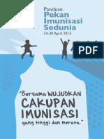 Buku Panduan Pekan Imunisasi 2015