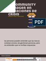 el community manager en situaciones de crisis