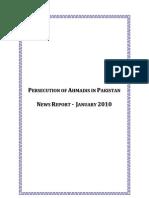 Monthly Newsreport - January, 2010 - Ahmadiyya Persecution in Pakistan