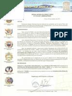 """21-10-11 Felicitación y Reconocimiento Mancomunidad Municipal """"QHAPAQ  QOLLA"""""""