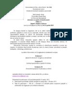 Invitatie Colocviul Internaţional Literatura CA Spaţiu Al Interferenţelor, Ediţia I-A, Spaţiul Imagine Şi Discurs 29.04.2015
