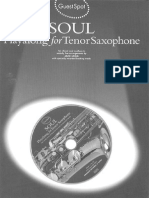 Soul playalong whith tenor