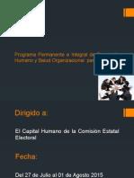 Programa Permanente e Integral de Desarrollo Humano
