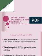 Preeclampsia, Eclampsia y Síndrome de Hellp