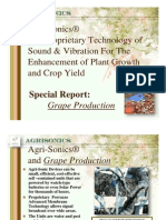 2010 Update Porrazzo Agrisonics for Grape Production Implications for New Shifts in Agriculture