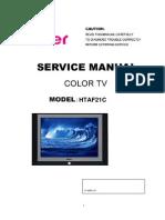 Haier HTAF21C Manual de Servicio
