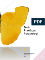 Tentir Praktikum Parasitologi