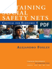 Sustaining Social Safety Nets