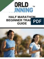 Half Marathon Beginner Training Guide