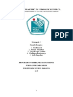 Laporan Praktikum Hidrolik Kontrol