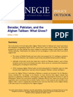 Beradar, Pakistan, and the Afghan Taliban