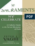 The Sacraments We Celebrate - excerpt