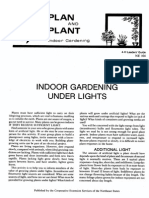 Indoor Gardening Under Lights
