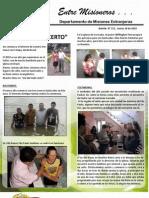 Boletin 151 INFORME MISIONERO DE BRASIL - MARZO 2010