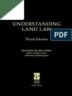 253683375 Understanding Land Law PDF
