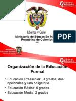Organizacion de La Educacion Formal