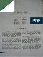 La Sirena Roja - Marcelino Dávalos
