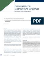 Niños y Adolescentes Con Necesidades Educativas Especiales