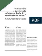 Mioto RCT O Trabalho Com Redes Como Procedimento de Intervencao