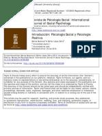 Psicología positiva y psicología social