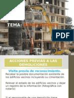 Trabajos de Demolicion