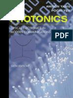 Photonics (Optical Electronics in Modern Communications)
