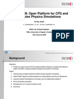 OpenFOAM Open Platform for CFD and Complex Physics Simulation