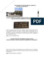 Visita al organismo judicial de Chiquimula