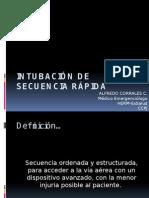 Intubación de Secuencia Rápida