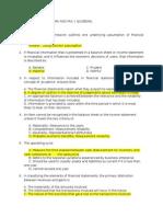 A1.Framework & PAS 1 Quizbowl