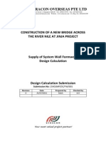 Calculation Report - A2 System Formwork