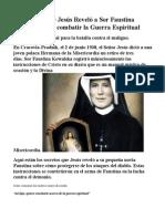 25 Secretos Que Jesús Reveló a Sor Faustina Kowalska Para Combatir La Guerra Espiritual