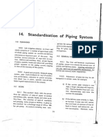 Standardisation of Piping System