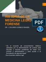 Historia de La Medicina Legal y Forense