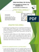 Arquitectura Griega y Romana (1)