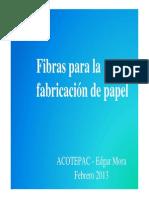 Fibras Para La Fabricación de Papel
