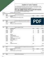 Analisis de Costos Unitarios COLEGIO