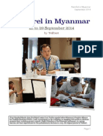 NAMFREL in Myanmar