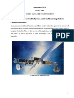 Satellite Communication Notes