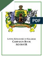 Living Kalamar - Campaign Book