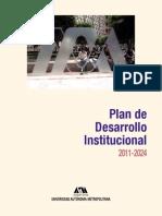 UAM Plan de Desarrollo Institucional - PDI_2011-2024.pdf