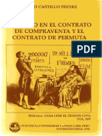 Castillo Freyre, Mario - El Precio en El Contrato de Compraventa y El Contrato de Permuta