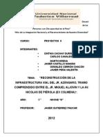 RECONSTRUCCIÓN DE LA INFRAESTRUCTURA VIAL DEL JR. AZÁNGARO, TRAMO COMPRENDIDO ENTRE EL JR. MIGUEL ALJOVIN Y LA AV. NICOLAS DE PIÉROLA (EX COLMENA