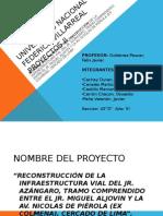 Diapositivas Finales - Proyectos