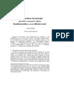 Fuentes Jurídicas Del Principio Qui Tacet Consentire Videtur