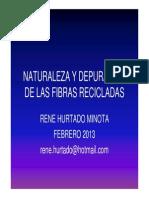 Naturaleza y Depuración de Fibras Recicladas
