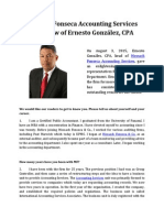 Mossack Fonseca Accounting Services Interview of Ernesto González, CPA