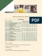 spell-less ranger for dnd 5e and primeval thule